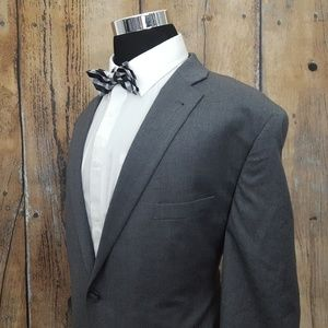 Jos A Bank 1905 Tailored Sport Coat Mens 50L Gray